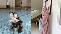 Potret Hangat Zaskia dan Anak Shireen Sungkar. (Sumber: Instagram.com/zaskiasungkar15)
