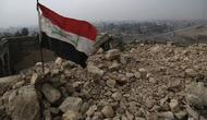 Ilustrasi Bendera Irak (AP)