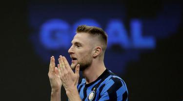FOTO: Jinakkan Atalanta, Inter Milan Menjauh dari AC Milan dan Juventus