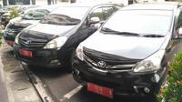 Mobil Dinas ASN Pemkot Bogor. (Achmad Sudarno)