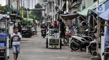 FOTO: Angka Kemiskinan di Indonesia Naik Selama Pandemi