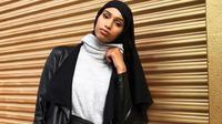 Model berhijab pertama yang tampil di Melbourne Fashion Festival. (dok. Instagram @iamxanaan/https://www.instagram.com/p/BiwhImSncaC/Putu Elmira)