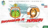 Liga 1 2018 Bhayangkara FC Vs Perseru Serui (Bola.com/Adreanus Titus)