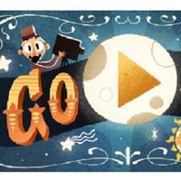 Georges Melies muncul di Google Doodle hari ini, siapa dia? (Sumber Foto: Google)