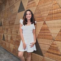 Salshabilla Adriani launching single Jangan Pergi. (Nurwahyunan/Bintang.com)