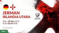 Kualifikasi Piala Eropa 2020 - Jerman Vs Irlandia Utara (Bola.com/Adreanus Titus)