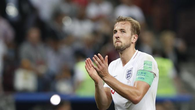 3. Harry Kane - Penyerang Tottenham Hotspur (Inggris). (AP/Rebecca Blackwell)