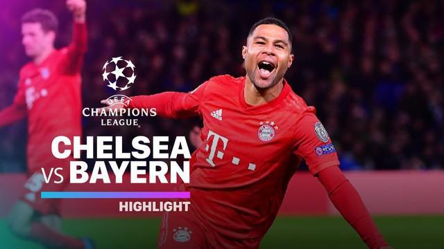 Berita video flashback highlights leg I babak 16 besar Liga Champions 2019-2020 antara Chelsea melawan Bayern Munchen yang berakhir dengan skor 0-3 pada 25 Februari 2020.