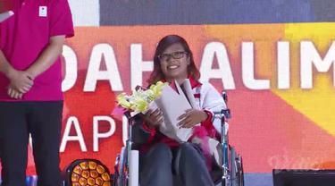 Berita video pemberian penghargaan kepada para relawan di acara penutupan Asia Para Games 2018, Sabtu (13/10/2018).