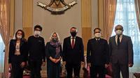 Indonesia dan Rusia menjalin kerja sama untuk memberi pandangan baru terkait penunjukkan Indonesia sebagai Presidensi G20, Rabu (15/09/2021) (Foto: Siaran Pers)