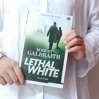 Novel Lethal White./Copyright Endah