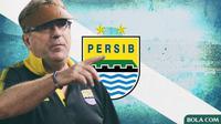 Pelatih Persib Bandung Robert Alberts (Bola.com/Adreanus Titus)