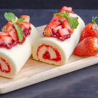 Ilustrasi bolu merah putih./Copyright shutterstock.com