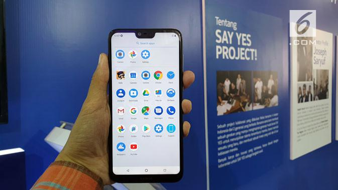 Smartphone Nokia 6.1 Plus resmi meluncur di Indonesia. Liputan6.com/ Agustin Setyo Wardani