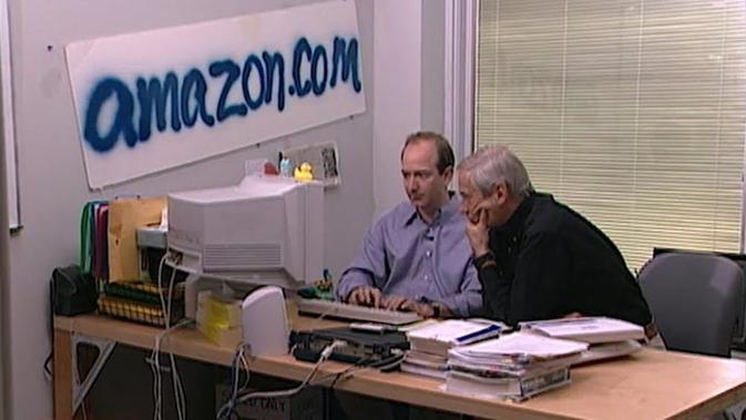 Jeff Bezos tempo dulu. Dok: 60 Minutes