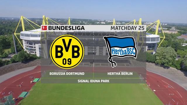 Berita Video Gol Youssoufa Moukoko Jadi Penutup Kemenangan Borussia Dortmund Melawan Hertha Berlin di Bundesliga Pekan 25