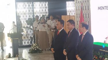 Serah Terima Jabatan Menteri ESDM Arifin Tasrif