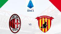 Serie A - AC Milan Vs Benevento (Bola.com/Adreanus Titus)