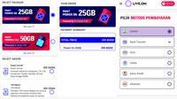 Pembelian kuota dan add-on Live.On kini bisa dilakukan via Gopay (Liputan6.com/ Agustin Setyo W)