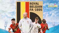 Piala Eropa - Euro 2020 Timnas Belgia (Bola.com/Adreanus Titus)