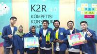 ITS kembali torehkan prestasi dengan menjuarai Kompetisi Konstruksi Ramping (K2R) 4.0. (Foto: Liputan6.com/Dian Kurniawan)