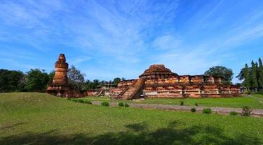 Komplek Sandi Muara Takus di Kabupaten Kampar yang akan dijadikan puncak perayaan Waisak.