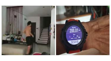 Negaranya Dilockdown, Pria Ini Lari 263 Km dalam Waktu 36 Jam di Rumahnya