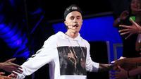 Meski begitu Justin Beiber masih belum bisa mengalahkan Sam Smith.  (AFP/Bintang.com)