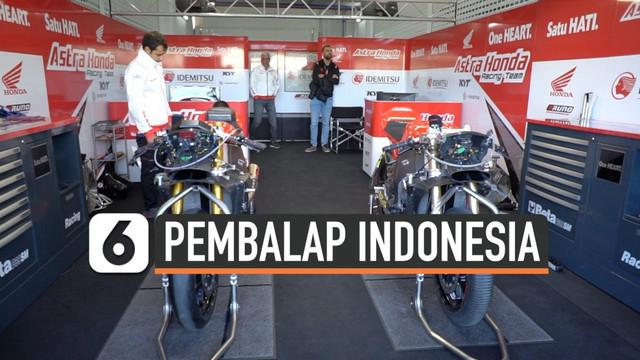 Pembalap-pembalap Indonesia gagal meraih hasil terbaik di seri penutup balapan FIM CEV 2019 yang berlangsung di Ricardo Tormo, Valencia, Minggu (10/11/2019). Tiga pembalap Astra Honda Racing Team (AHRT) yang tampil di kelas Moto2 dan Moto3, tidak sat...