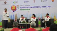 Dalam rangka menularkan gaya hidup sehat kepada masyarakat di negara-negara anggota ASEAN sekaligus sebagai negara pemimpin dan tuan rumah diluncurkannya program Hari Bebas Kendaraan