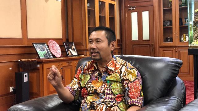 Direktur Pembinaan Sekolahh Menangah Kejuruan, M Bakrun