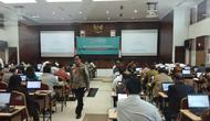 Panitia Seleksi Calon Pimpinan (Pansel Capim) Komisi Pemberantasan Korupsi (KPK) melaksanakan tes uji kompetensi di Pusdiklat Setneg, Jakarta Selatan pada Kamis (18/7/2019). (Foto: Ady Anugrahadi/Liputan6.com)