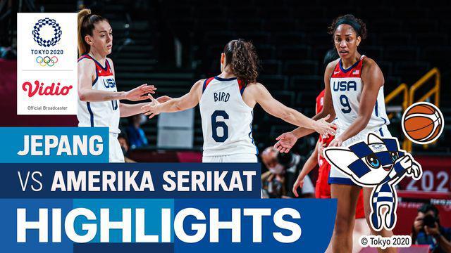 Berita Video, Jepang Gagal Raih Emas di Final Basket Putri Olimpiade Tokyo 2020 usai Kalah Melawan Amerika Serikat