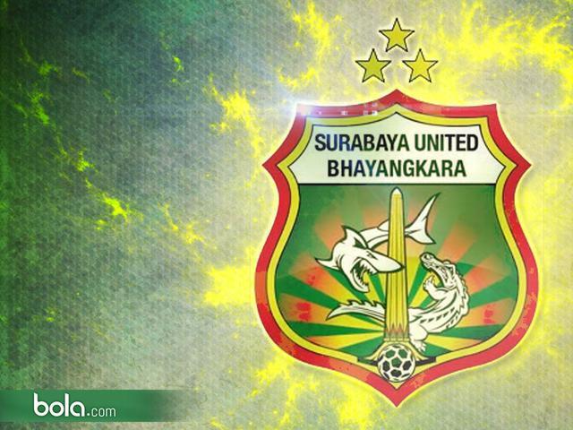 Logo Surabaya United Bhayangkara Kental Bernuansa Persebaya Indonesia Bola Gambar