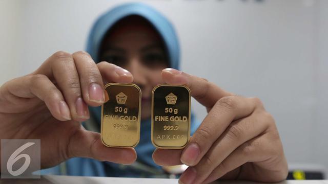 Harga Emas Antam Lebih Murah Rp 2000 Per Gram Bisnis Liputan6com