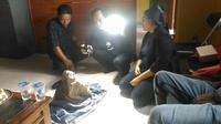 Cerita di balik penemuan arca mirip tokoh Semar di Gunung Ciremai. Foto: (Panji Prayitno/Liputan6.com)