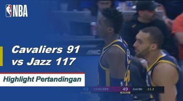 Kelima Jazz starter mencetak angka ganda yang dipimpin oleh Donovan Mitchell dengan 18 poin ketika Utah menang di jalan