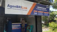 Agen BRILink yang kini tersebar di 55 ribu desa di Tanah Air.