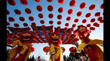 Intip, Rangkaian Kegiatan Perayaan Tahun Baru Imlek di Beijing