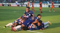 PSIS Semarang meraih kemenangan 4-2 atas Perseru, Minggu (23/9/2018) di Stadion Moch. Soebroto, Magelang. (Bola.com/Ronald Seger)