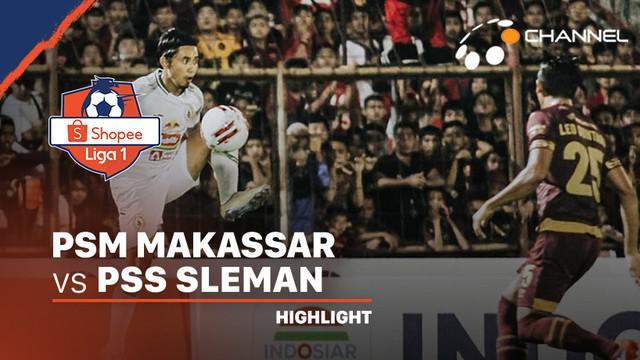 Berita video highlights pekan pertama Shopee Liga 1 2020 antara PSM Makassar melawan PSS Sleman yang berakhir dengan skor 2-1 di Stadion Andi Mattalatta, Minggu (1/3/2020).