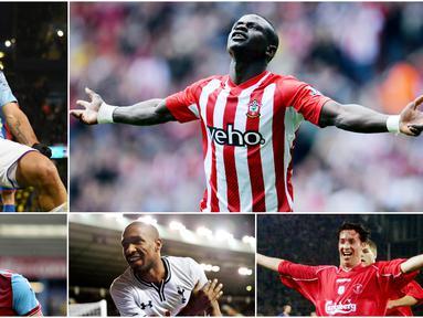 Begitu banyak pemain-pemain di Liga Inggris yang mampu mencetak tiga gol dalam satu pertandingan. Berikut kami rangkum lima pencetak hattrick tercepat di pentas Premier League.