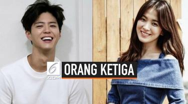 Isu mengenai perceraian Song Hye Kyo - Song Joong Ki terus melebar. Bahkan, beredar spekulasi adanya orang ketiga dalam pernikahan dua bintang ini. Sosok yang dituding menjadi orang ketiga adalah lawan main Song Hye Kyo dalam drama Encounter, Park Bo...
