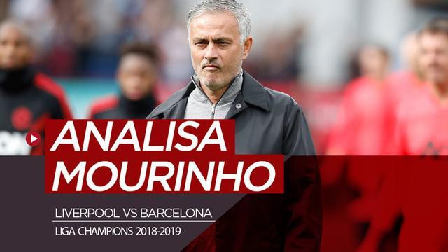 Berita video komentar analisa mantan manajer Manchester United, Jose Mourinho, soal comeback fantastis Liverpool atas Barcelona pada semifinal Liga Champions 2018-2019.