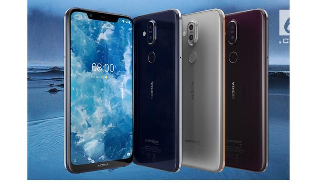 Nokia 8.1 (Foto: Gizmochina)