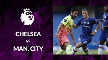 Berita motion grafis statistik Chelsea vs Manchester City pada lanjutan Premier League 2019-2020, Jumat (26/6/2020). Liverpool kunci gelar juara berkat kemenangan The Blues.