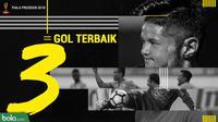 3 Gol Terbaik Piala Presiden 2018 (Bola.com/Adreanus Titus)