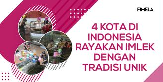 Perayaan Unik Imlek 4 Kota di Indonesia