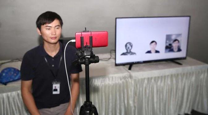 Oppo Pamer Kemampuan Video Call Berbasis 5G. (Doc: Oppo)