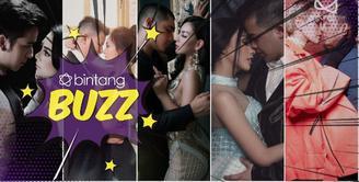 Bikin panas dingin warganet, 5 foto hampir ciuman ala seleb ini buat pangling.
